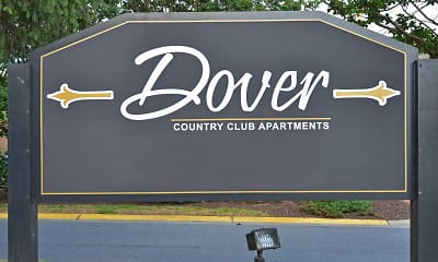 Community Signage, Dover Country Club, 2