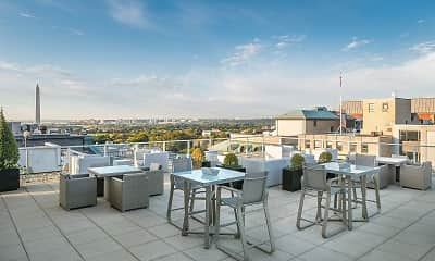 Patio / Deck, The Woodward Building Apartments, 0