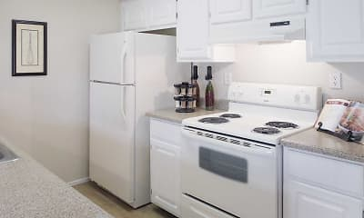 Kitchen, Laurel Oaks, 1