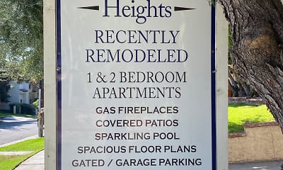 Community Signage, South Pasadena Heights, 2