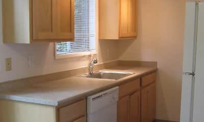 Kitchen, Cedar Linn, 1