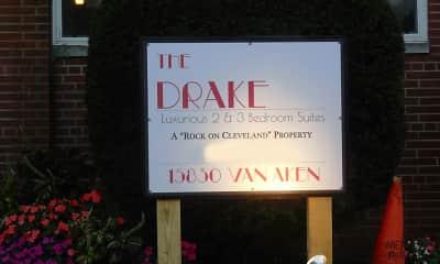 Community Signage, The Drake, 2