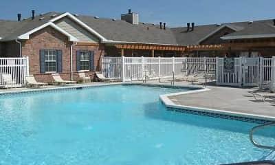 Pool, Maple Grove Villas, 1