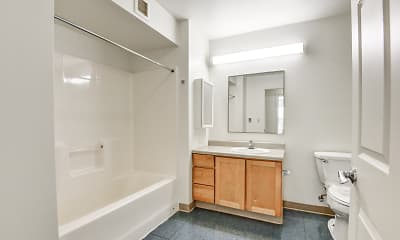 Bathroom, North End Gateway, 2
