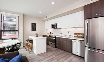 Kitchen, Avalon Dogpatch, 1