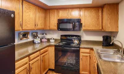 Kitchen, Woodland Hills Apartments, 1