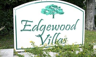 Community Signage, Edgewood Villas, 2