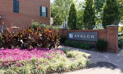 Community Signage, Avalon At Arlington Square, 2