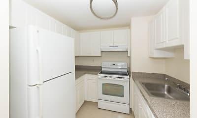 Kitchen, Lakewood Apartments, 2