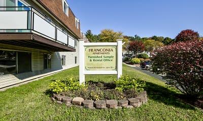 Community Signage, Franconia Apartments, 2