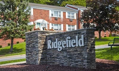 Community Signage, Ridgefield Apartments, 0