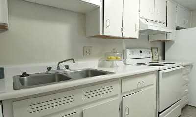 Kitchen, Richland Terrace, 1