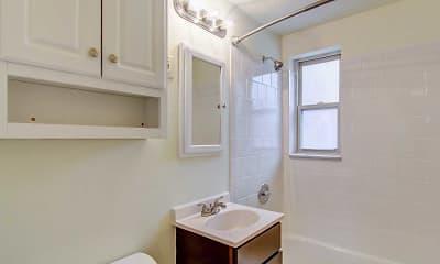 Bathroom, Cloverleaf Village, 1