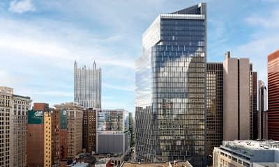 Building, Kaufmann's Grand on Fifth Avenue, 2