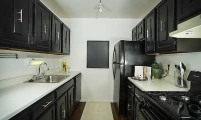 Kitchen, Park West Apartments, 1