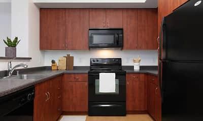 Kitchen, Avalon Union City, 1