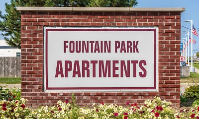 Community Signage, Fountain Park Apartment Homes, 0