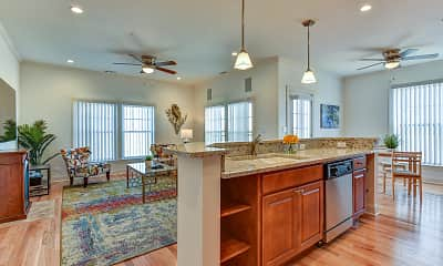 Kitchen, The Legacy Apartments, 1