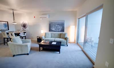 Living Room, The 951 Apartments, 1