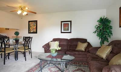 Living Room, Gretna Park Apartment Homes, 1