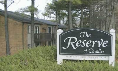 Community Signage, The Reserve at Cavalier, 0