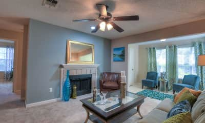 Living Room, The Grove at Trinity Pointe, 0