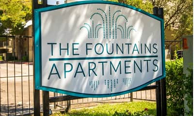 Community Signage, The Fountains, 0