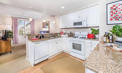 Kitchen, Woodbury Lane Apartment Homes, 1