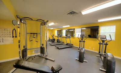 Fitness Weight Room, Hunter's Chase, 2