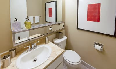 Bathroom, Maple Leaf Apartment Homes, 2