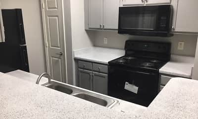 Kitchen, Lakeview Apartments, 1