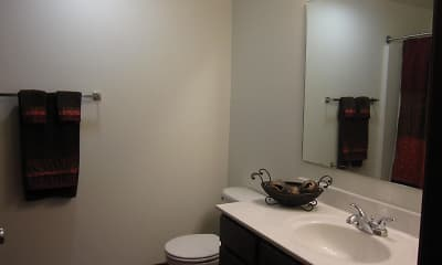 Bathroom, Riverview Place Condos, 2