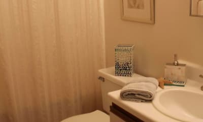 Bathroom, Saunders School Apartments, 2