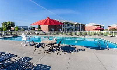 Pool, CenterPointe Apartments & Townhomes, 1