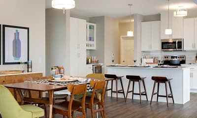 Kitchen, Galante at Parkside, 0