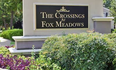 Community Signage, The Crossings at Fox Meadows, 2