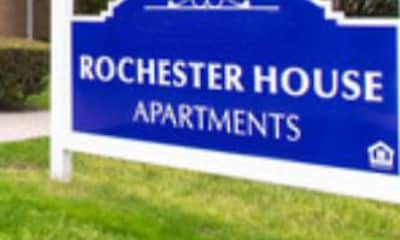 Community Signage, Rochester House Apartments, 2