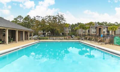 Pool, Arbours At Shoemaker Place Apartments, 1