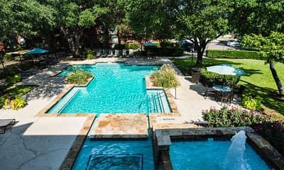 Pool, Indian Creek, 1