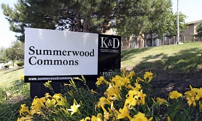 Community Signage, Summerwood Commons, 2