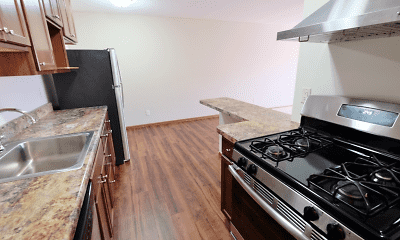 Kitchen, King's Highway Apartments, 1