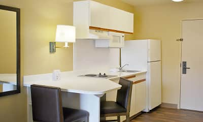 Kitchen, Furnished Studio - Washington, D.C. - Tysons Corner, 1