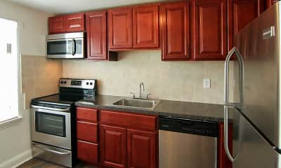 Kitchen, Maple Court, 1