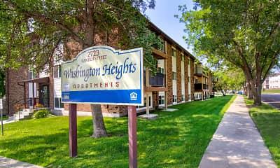 Community Signage, Washington Heights Apartments, 0