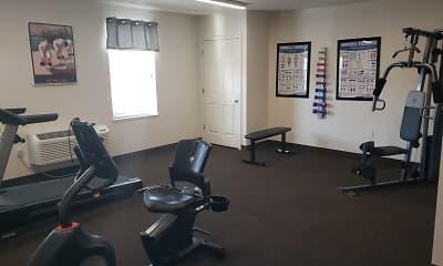 Fitness Weight Room, Fairfield Village Senior Apartments, 2