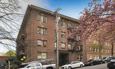 Building, Allendale Apartments, 1