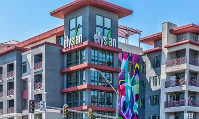 Building, Elysian at Hughes Center, 0
