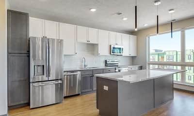 Kitchen, Haven at Uptown, 0