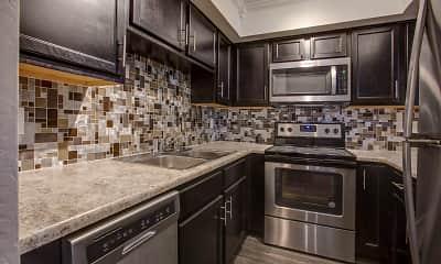 Kitchen, Villas at Papago Apartments, 0