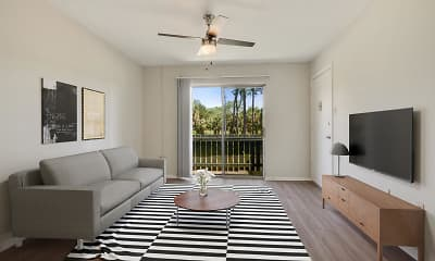Living Room, Shadow Creek, 1